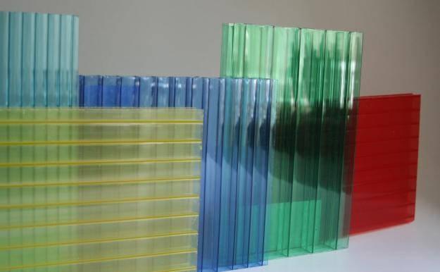 Сотовый поликарбонат  Soton 6 мм (опал, прозрачный, бронза, зелёный) (6)