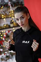 Толстовка утепленная Nike AIR MAX черная унисекс, фото 1