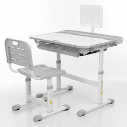 Парта + стул трансформеры Bambi M 3823A-11 Серый