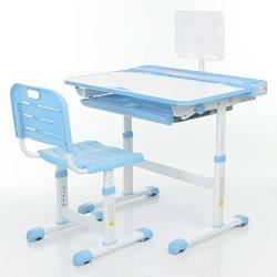 Парта + стул трансформеры Bambi M 3823A-4 Голубой
