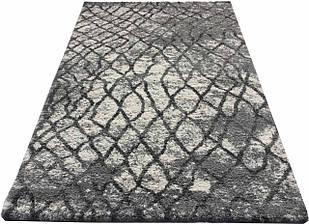 Коврик с высоким ворсом MF LOFT 2793A 0,8Х1,5 БЕЛЫЙ прямоугольник