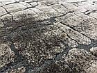 Ковер современный прямоугольник MIAMI SHRINK AI36A 2Х2,9, L.BEIGE / D.BEIGE, фото 2