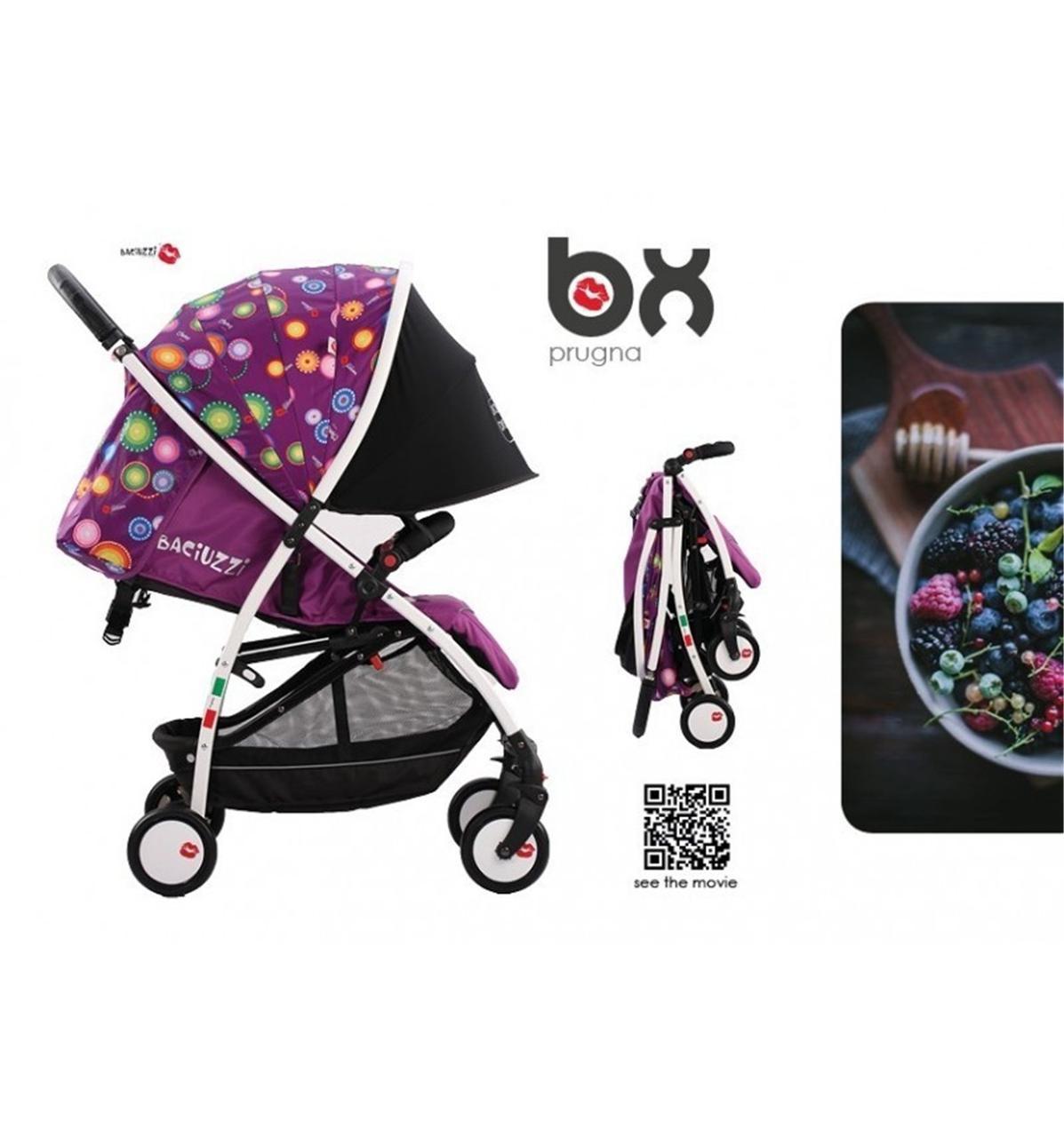 Детская прогулочная коляска BACIUZZI BX