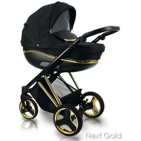 Универсальная детская коляска 2 в 1 BEXA NEXT GOLD