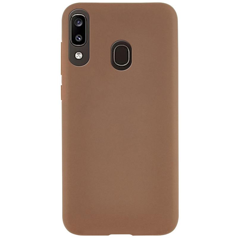 Силиконовый чехол Epic матовый для Samsung Galaxy A20 / A30