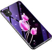 "TPU+Glass чехол Fantasy с глянцевыми торцами для Apple iPhone 11 (6.1"")"