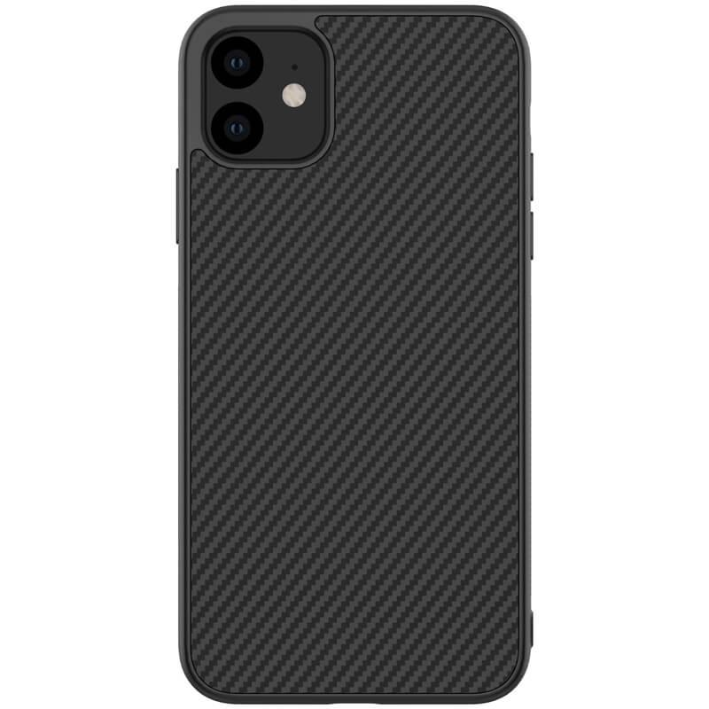 "Карбоновая накладка Amax Synthetic Fiber series для Apple iPhone 11 (6.1"")"