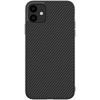 "Карбоновая накладка Amax Synthetic Fiber series для Apple iPhone 11 (6.1""), фото 1"