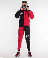 Спортивный костюм Sad & Smile │ Черно-красный, фото 1
