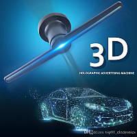 Голографический 3D проектор вентилятор AD светодиодный с Wi-Fi