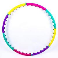Обруч разборной, D=96 см, 8 секций, пластик, BY-005-5.