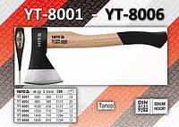 Топор, m= 1400г, L= 710мм YATO  YT-8005.
