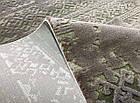 Коврик современный прямоугольник NUANS W3225 0,8Х1,5, L.GREY / C. GREY, фото 3
