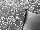 Коврик современный прямоугольник NUANS W3225 0,8Х1,5, L.GREY / C. GREY, фото 6