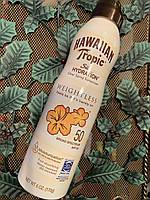 Солнцезащитный увлажняющий спрей для тела Hawaiian Tropic Silk Hydration