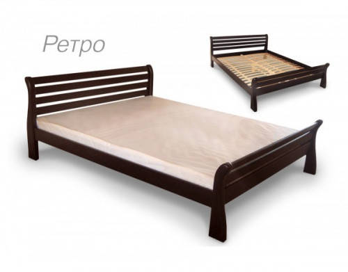 Двуспальная кровать Микс Мебель Ретро 1800*2000, фото 2
