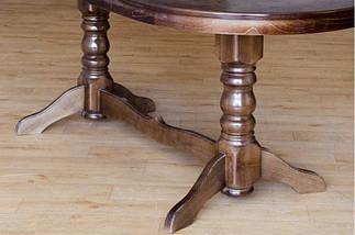 Стол обеденный раскладной Микс Мебель Говерла(160+40)/90, фото 3