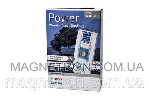 Набор мешков микроволокно (5шт) Type G ALL plus + фильтр BBZ51FGALL для пылесоса Bosch, Siemens 577549