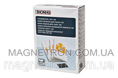 Набор мешков (4шт) 3,5L + фильтр мотора для пылесоса Thomas SmartTouch 787252