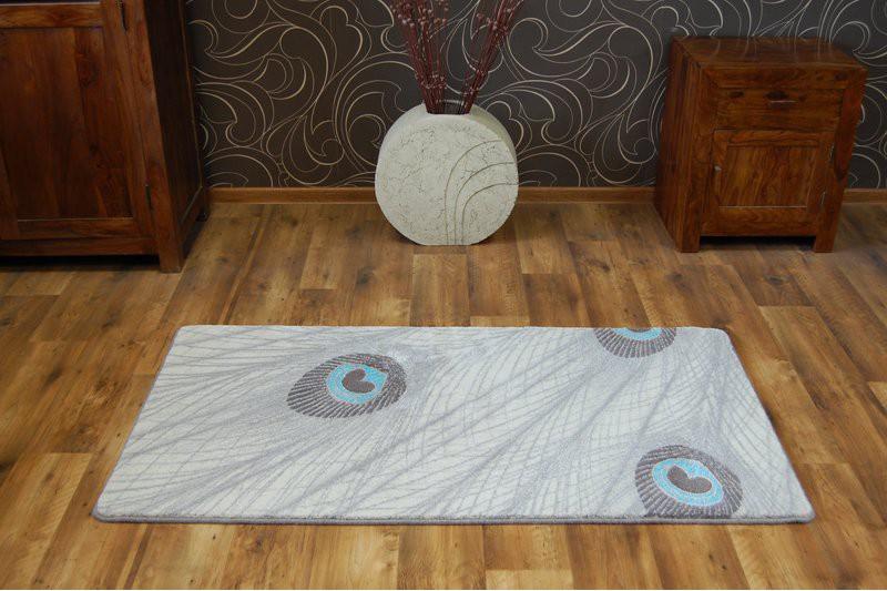 Коврик современный прямоугольник PATARA 0052 1Х2, TURKUAZ