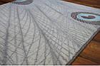 Коврик современный прямоугольник PATARA 0052 1Х2, TURKUAZ, фото 2