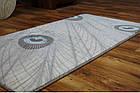 Коврик современный прямоугольник PATARA 0052 1Х2, TURKUAZ, фото 4