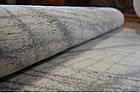 Коврик современный прямоугольник PATARA 0052 1Х2, TURKUAZ, фото 5