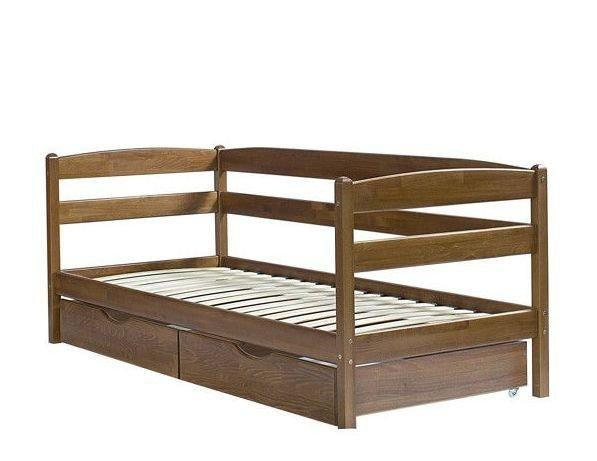 Кровать Микс Мебель Ева с выдвижными ящиками, 800*2000