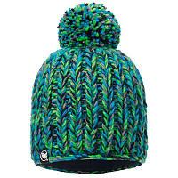 Шапка Buff Knitted & Polar Hat Skyler, Green
