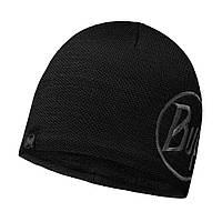 Шапка Buff Knitted & Polar Hat Solid Logo, Black