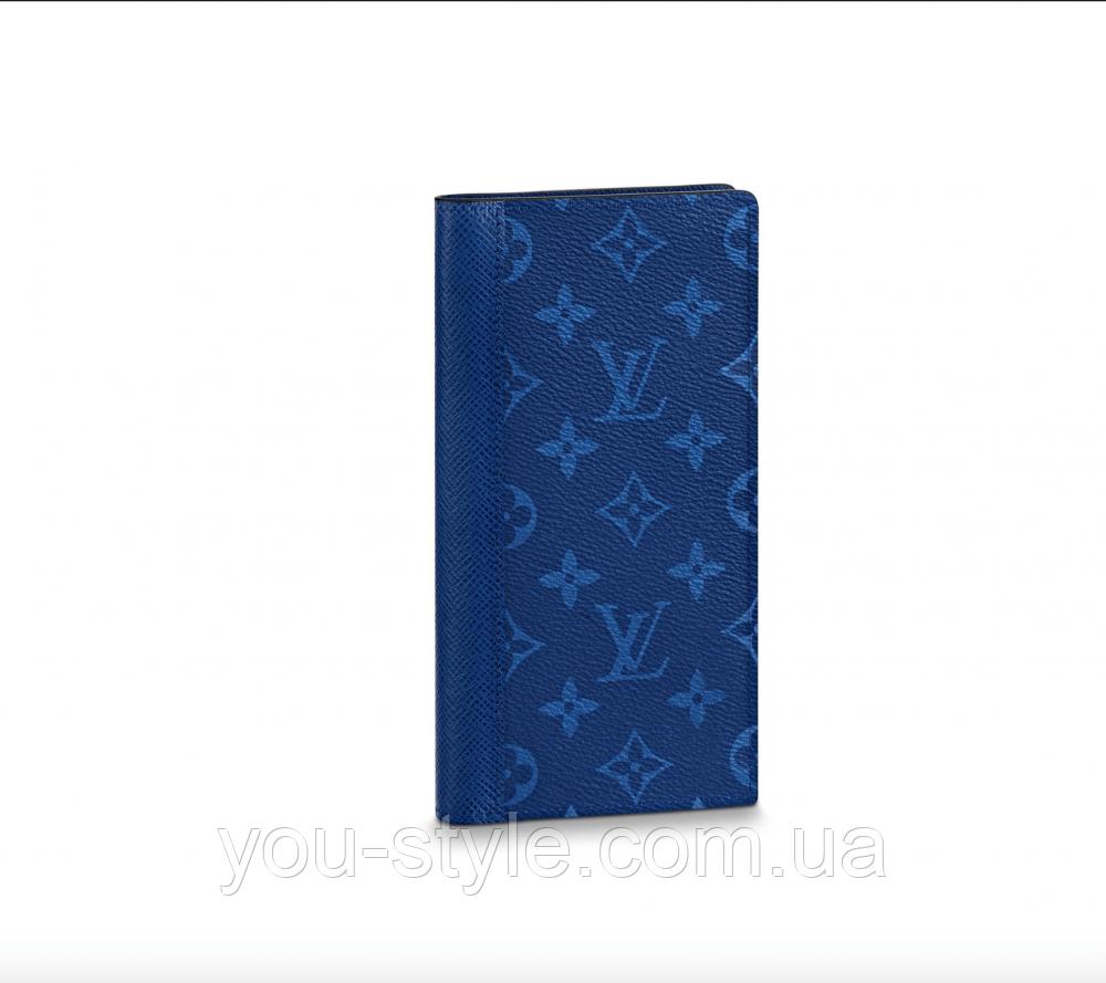 Бумажник Louis Vuitton Brazza Cobalt Monogram Pacific