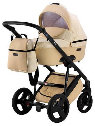 Универсальная детская коляска 2 в 1  Bair Leo ткань-кожа, фото 2
