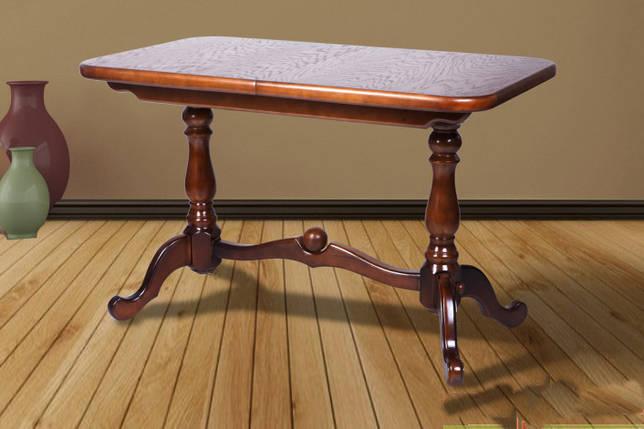 Стол обеденный Микс Мебель Дуэт 120(+40)*70, фото 2