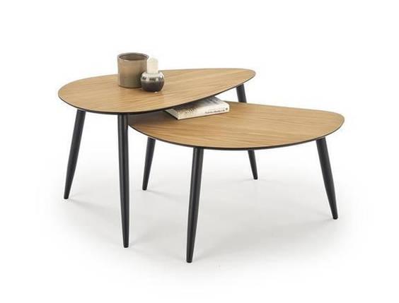 Комплект Halmar GENEVA 2 стола журнальных, фото 2