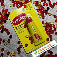 Carmex, Бальзам для губ, классический, с лечебным действием, (10 г)
