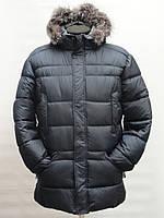 Зимняя мужская куртка. На капюшоне мех.