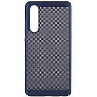 Ультратонкий дышащий чехол Grid case для Huawei P30