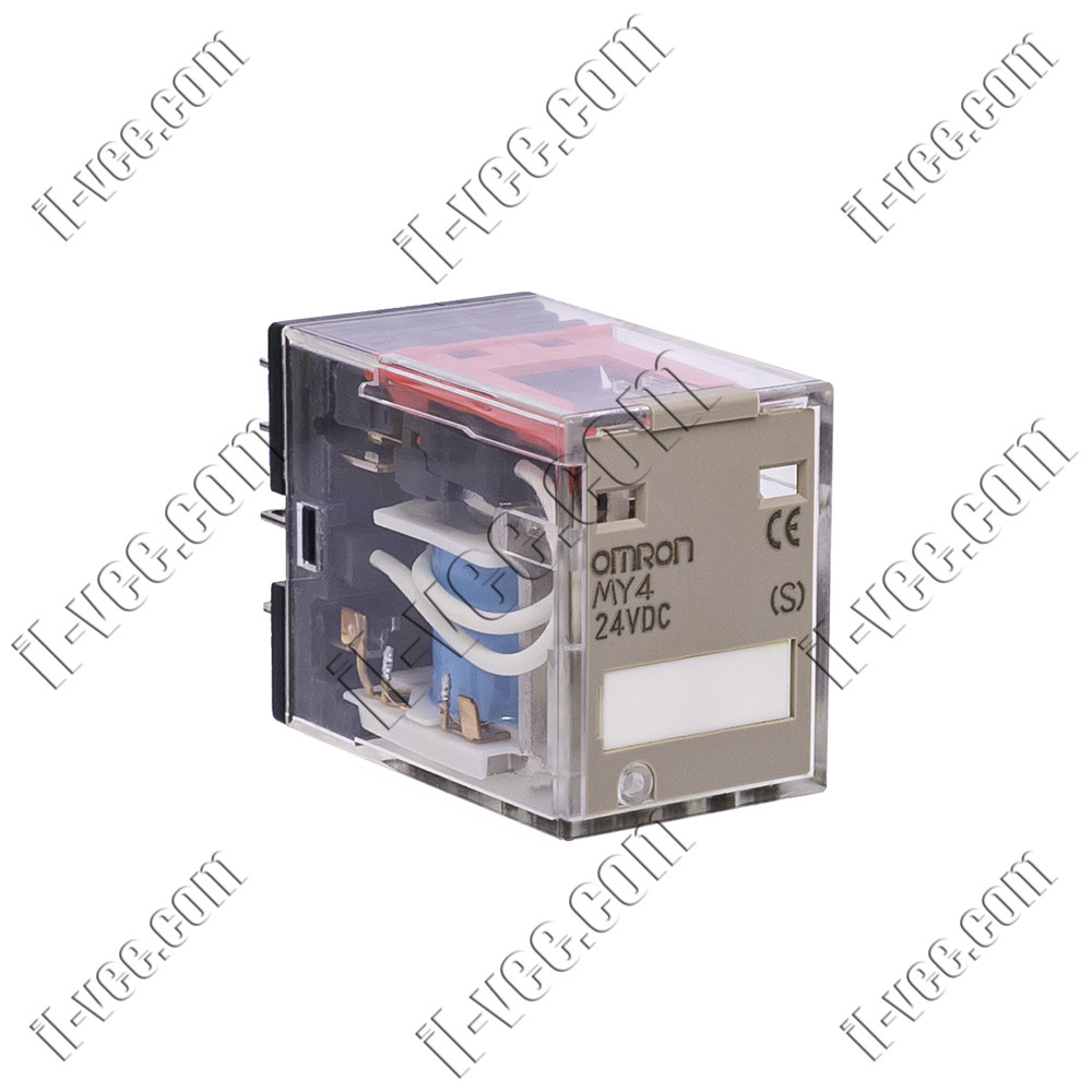 Реле OMRON MY4 24VDC (S), 5A/220VAC, 5A/24VDC