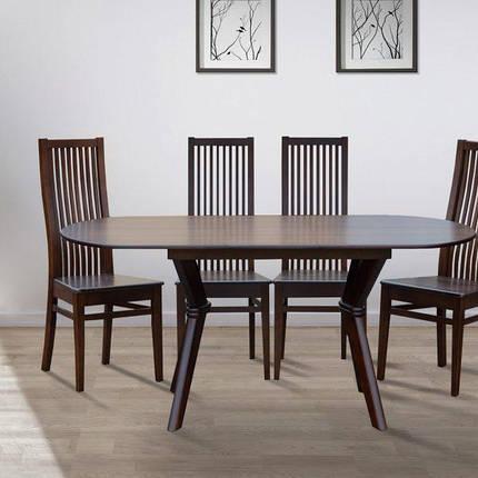 Стол обеденный  Микс Мебель Брайтон 129 (+34)*81см, фото 2