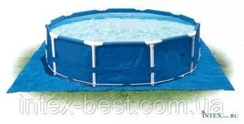 Intex 28048 - подстилка для бассейна 488x488 см