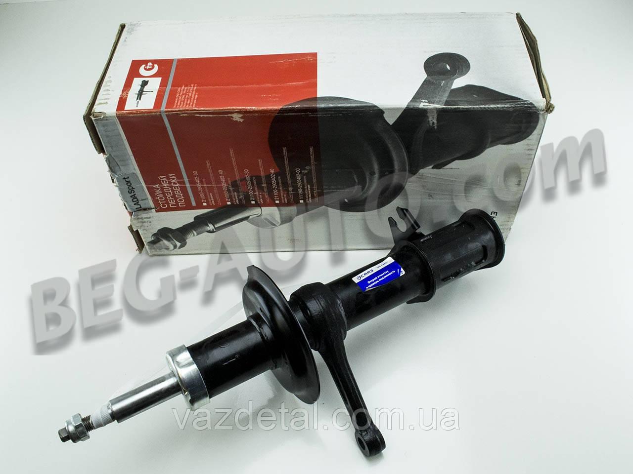Амортизатор передний стойка ваз 2110 2111 2112 левый (СААЗ) газовый