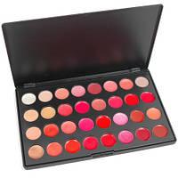 Профессиональный набор блесков для губ 32 цвета , палитра для макияжа