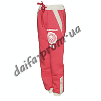 TZ2028-2. Tрикотажные брюки с начесом для девочек (5-8 лет) оптом на 7км.
