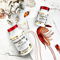 California Gold Nutrition, Жир арктического криля, с астаксантином, RIMFROST, натуральный клубничный и лимонный вкус, 1000 мг, 120 желатиновых
