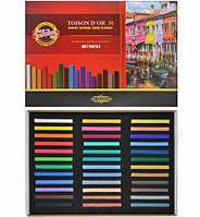 32-516 Мел-пастель сухая 36цветов Toison D`OR KOH-I-NOOR № 8585