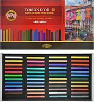 32-517 Мел-пастель сухая 48 цветов Toison D`OR KOH-I-NOOR № 8586