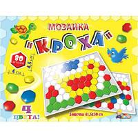 "Мозаика ""Кроха"" - 80 деталей (Ячейки,Соты) МГ081"