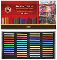 32-982 Пастель сухая  48цветов Soft Pastel серия For Artists № MP 48