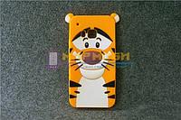 Чехол-бампер силиконовый HTC One M9 Тигр