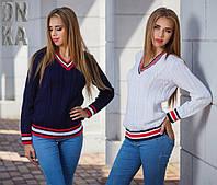 Женский стильный свитер
